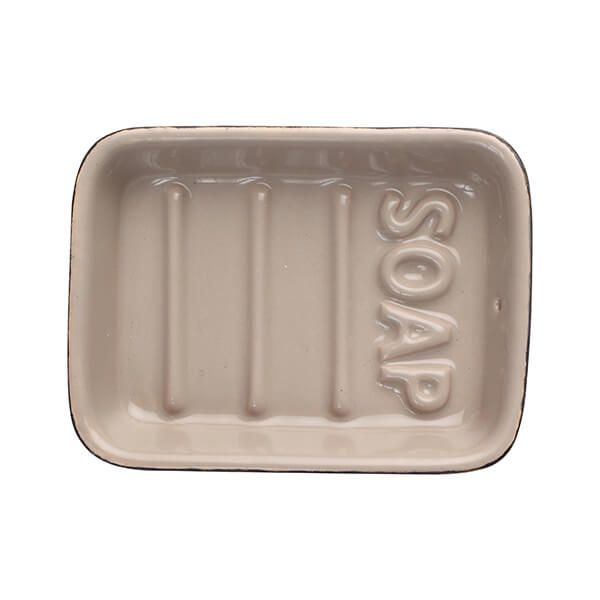 T&G Ocean Soap Dish Taupe