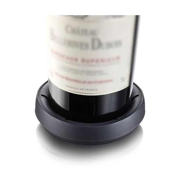 Vacu Vin Bottle Coaster Dark Grey