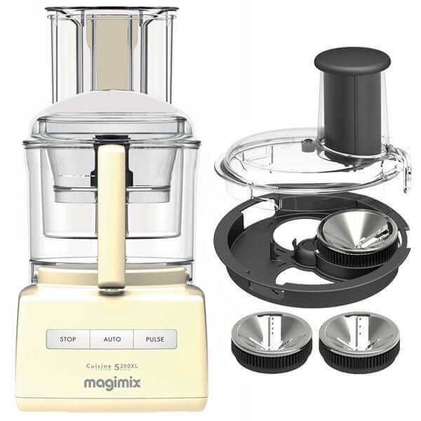 Magimix 5200XL Cream BlenderMix Food Processor with FREE Gift