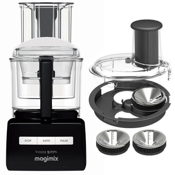 Magimix 5200XL Black BlenderMix Food Processor with FREE Gift
