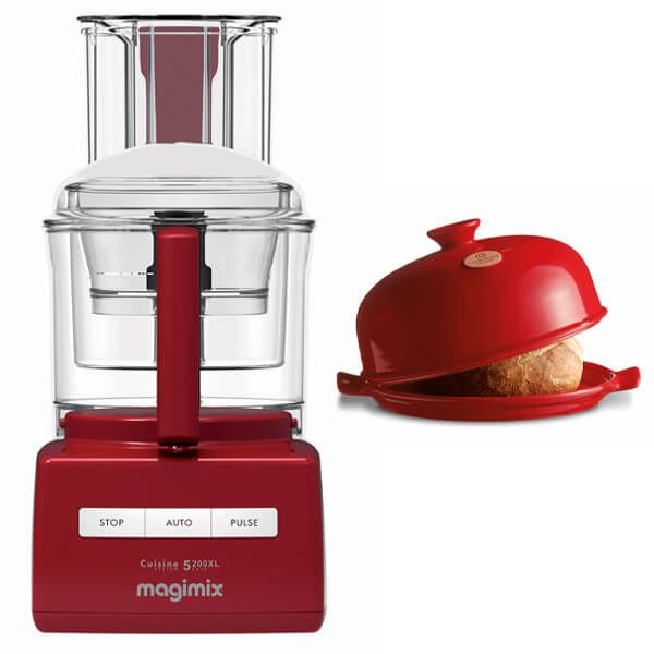 Magimix 5200XL Red Food Processor with FREE Gift