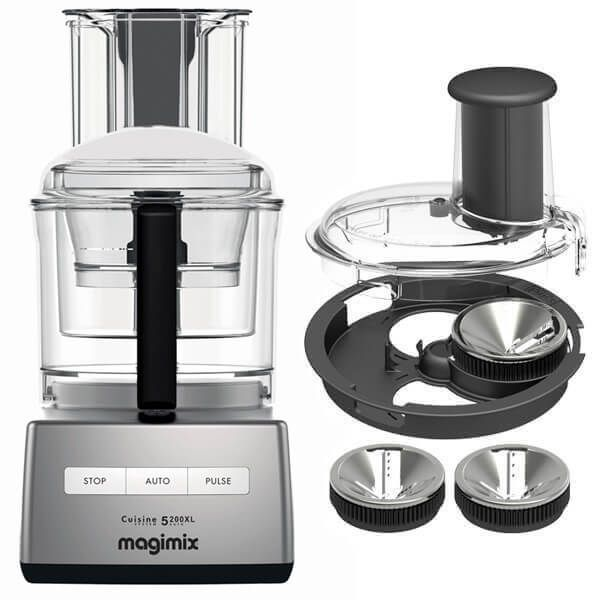 Magimix 5200XL Satin BlenderMix Food Processor with FREE Gift