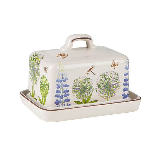 T&G Cottage Garden Butter Dish