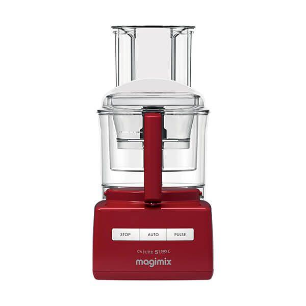 Magimix 5200XL Premium Red Food Processor