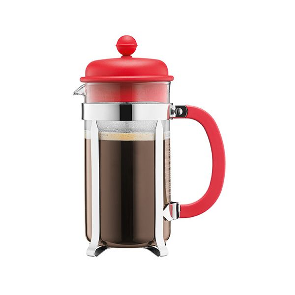 Bodum Caffettiera Coffee Maker 3 Cup Red