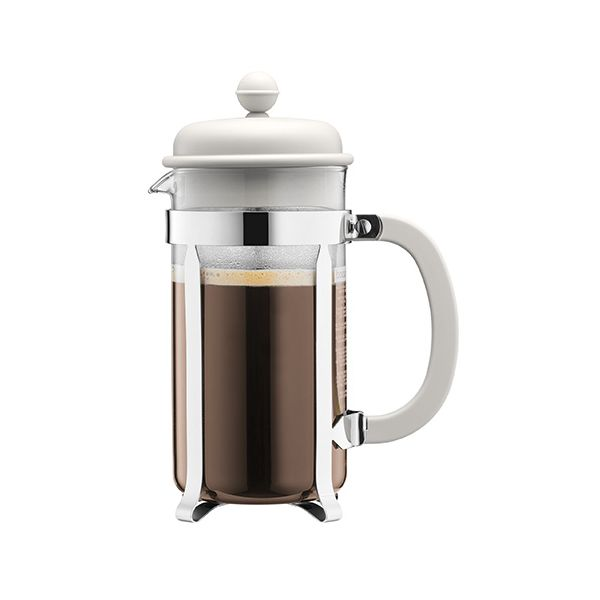Bodum Caffettiera Coffee Maker 3 Cup Off White