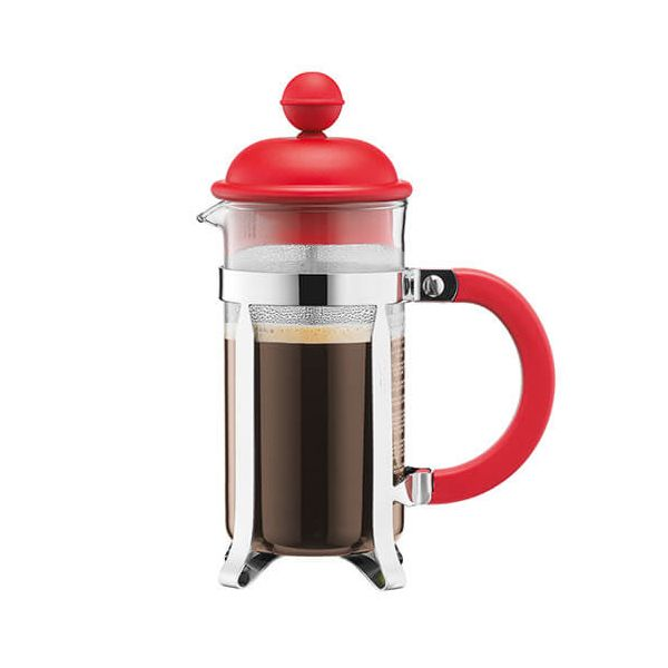 Bodum Caffettiera Coffee Maker 8 Cup Red