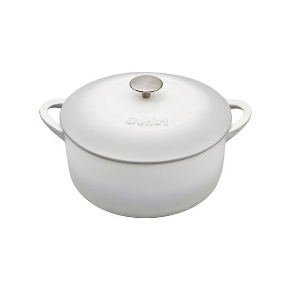 Denby Natural Canvas Cast Iron 24cm Round Casserole