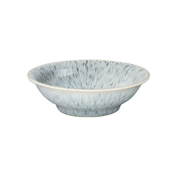 Denby Halo Speckle Small Shallow Bowl
