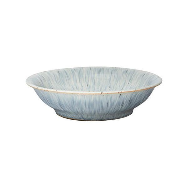 Denby Halo Speckle Medium Shallow Bowl