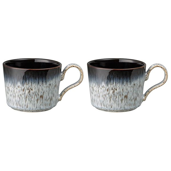 Denby Halo Brew Set Of 2 Tea/Coffee Cups
