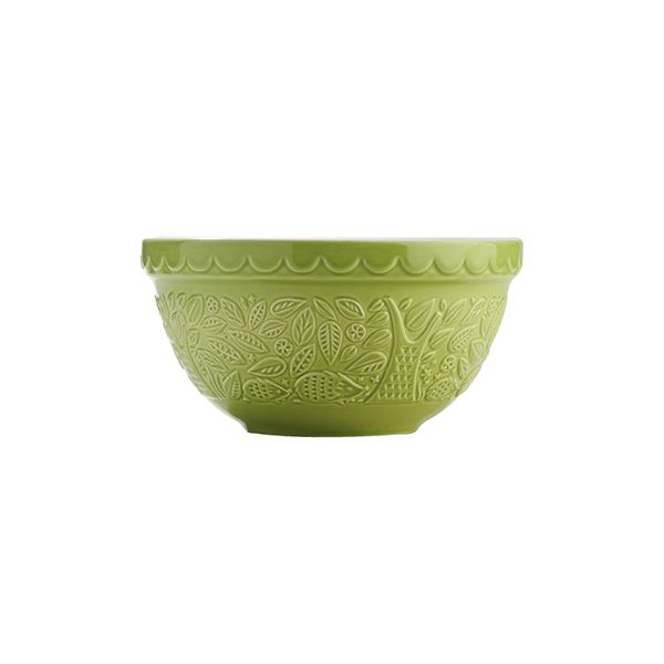 Mason Cash In The Forest Green S30 Mixing Bowl 21cm