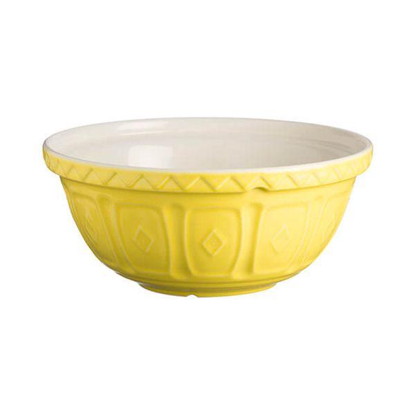 Mason Cash Colour Mix S12 Bright Yellow Mixing Bowl 29cm