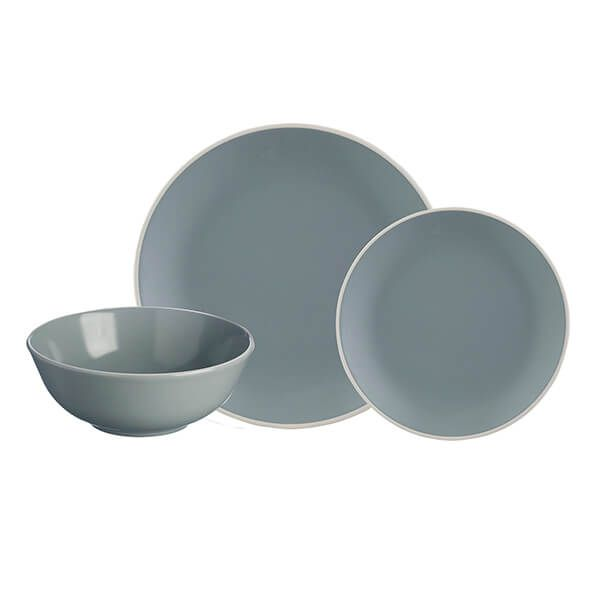 Mason Cash Classic Collection Grey 12 Piece Dinner Set