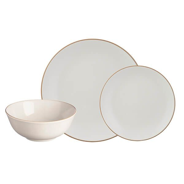 Mason Cash Classic Collection Cream 12 Piece Dinner Set