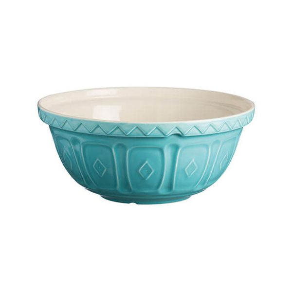 Mason Cash Colour Mix S18 Turquoise Mixing Bowl 26cm