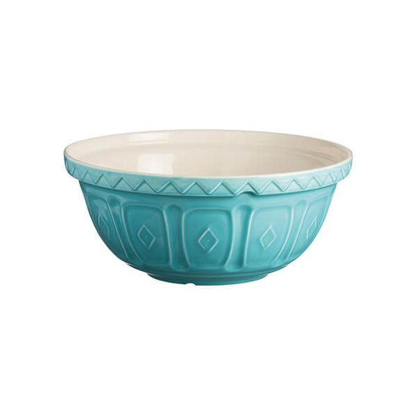Mason Cash Colour Mix S24 Turquoise Mixing Bowl 24cm