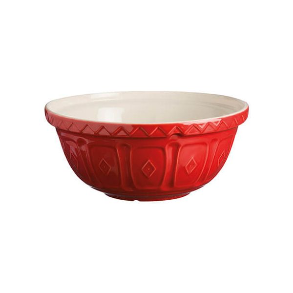 Mason Cash Colour Mix S24 Red Mixing Bowl 24cm