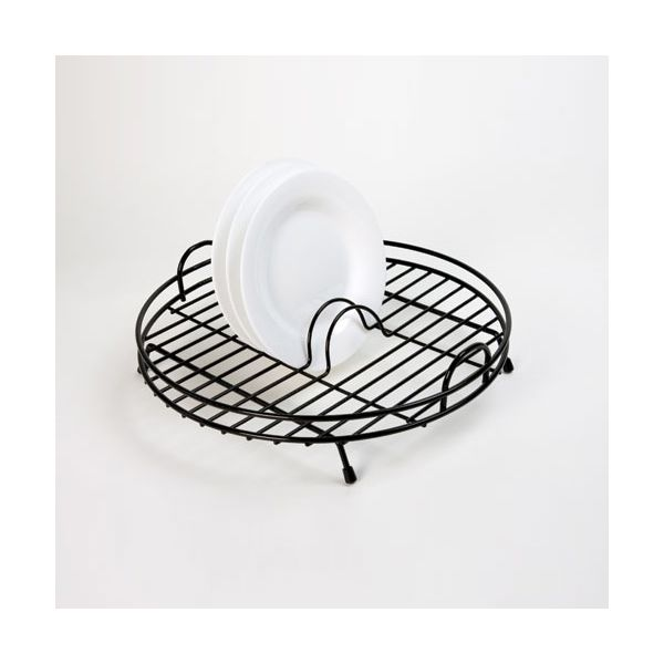 Delfinware Wireware Black Circular Drainer