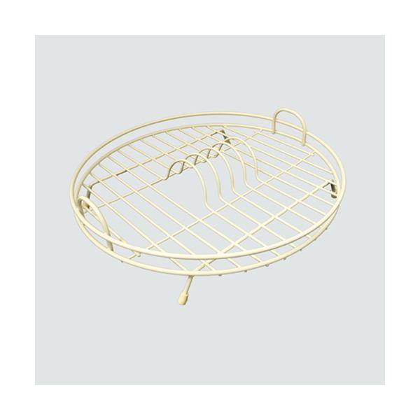 Delfinware Wireware Cream Circular Drainer
