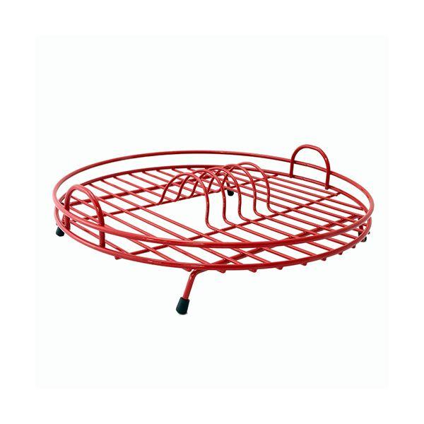 Delfinware Wireware Red Circular Drainer