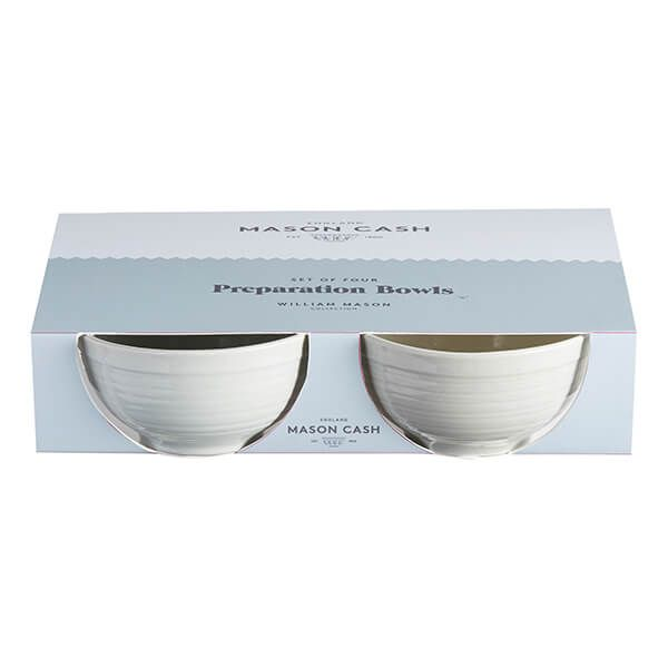 Mason Cash William Mason Grey Set of 4 Food Prep Bowls