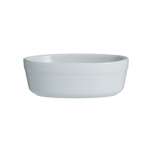 Mason Cash William Mason White 17cm Oval Dish