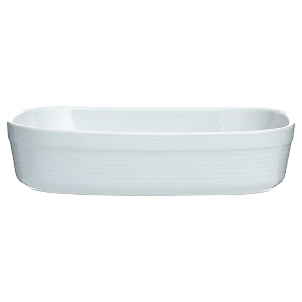 Mason Cash William Mason 31cm White Rectangular Dish