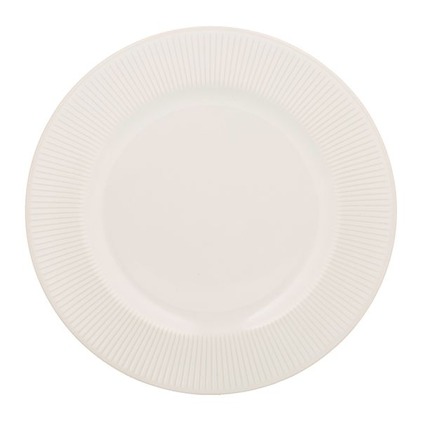 Mason Cash Linear White Dinner Plate
