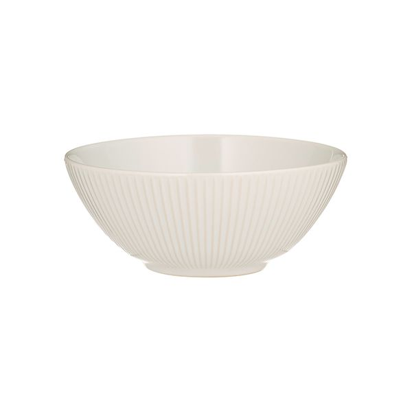 Mason Cash Linear White Cereal Bowl
