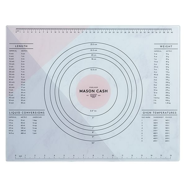 Mason Cash Innovative Kitchen Glass Pastry Board 45x35