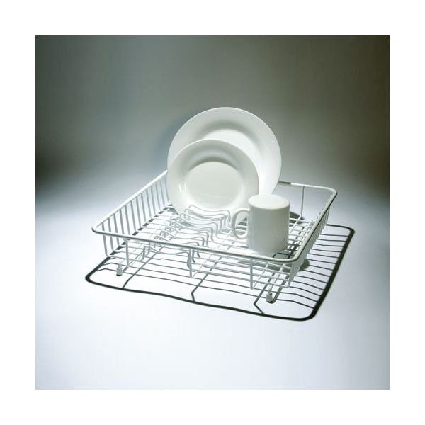 Delfinware Wireware White Medium Drainer
