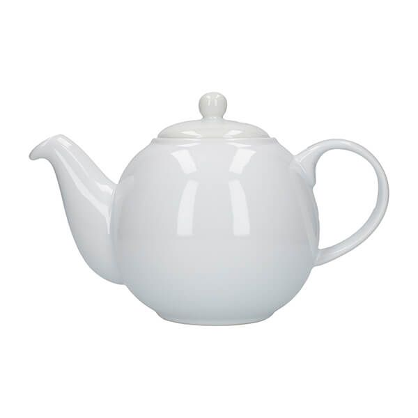 London Pottery Globe 2 Cup Teapot White