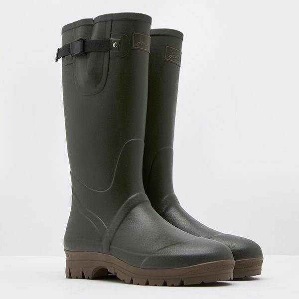 Joules Dark Everglade Neoprene Lined Field Wellies