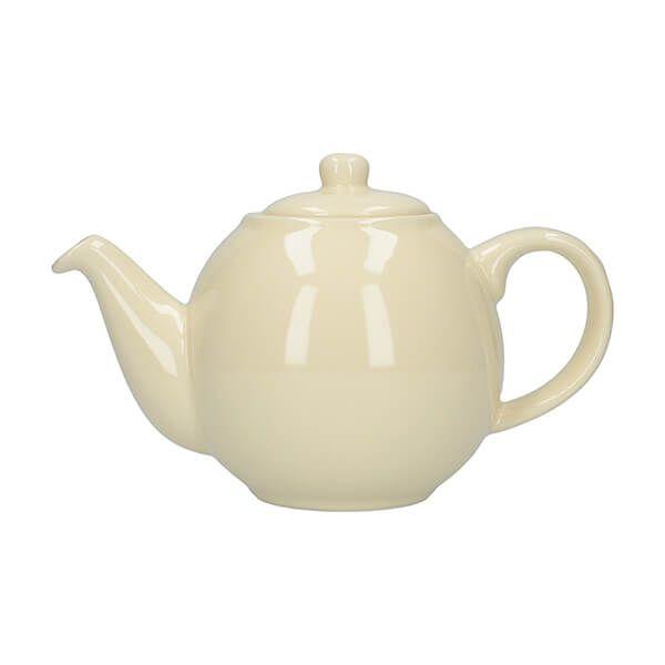 London Pottery Globe 2 Cup Teapot Ivory