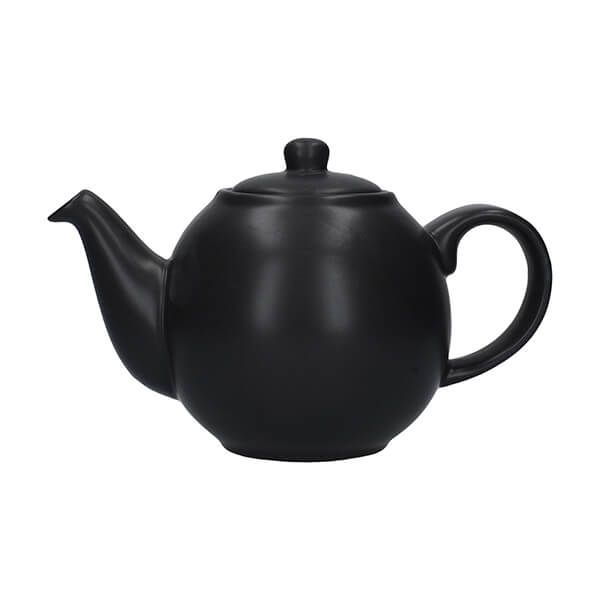London Pottery Globe 2 Cup Teapot Matt Black