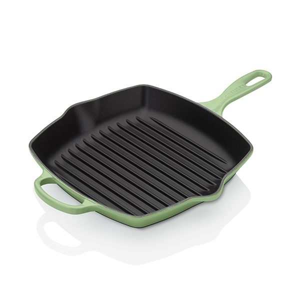 Le Creuset Signature Rosemary Cast Iron 26cm Square Grillit