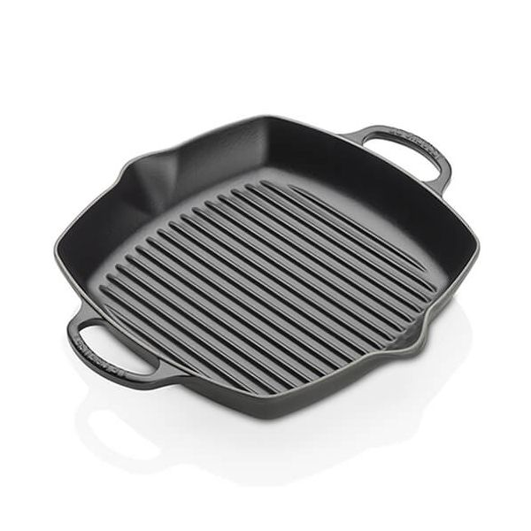 Le Creuset Signature Satin Black 30cm Deep Square Grill