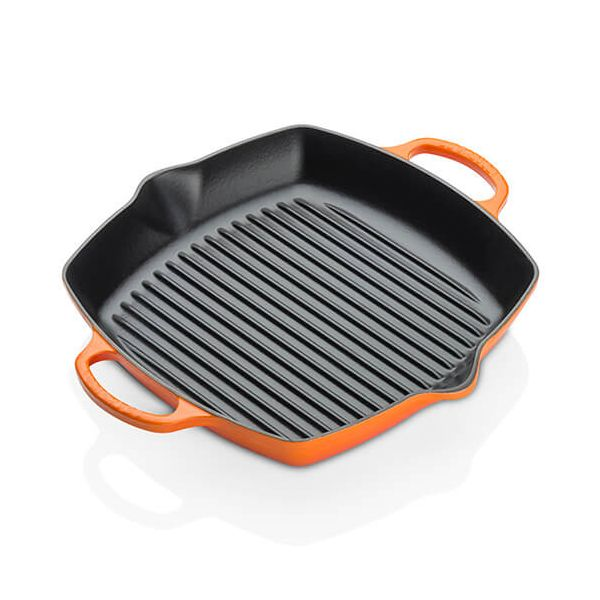 Le Creuset Signature Volcanic 30cm Deep Square Grill
