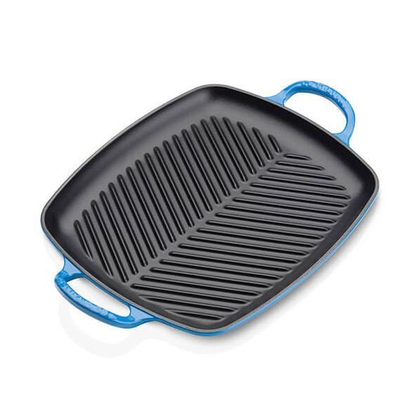 Le Creuset Signature Marseille Cast Iron 30cm Rectangular Grill