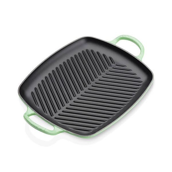 Le Creuset Signature Rosemary Cast Iron 30cm Rectangular Grill