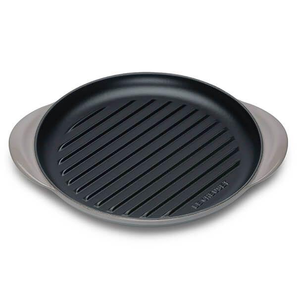 Le Creuset Flint Cast Iron 25cm Round Grill
