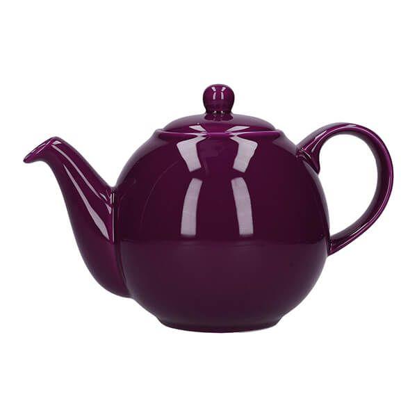 London Pottery Globe 2 Cup Teapot Purple