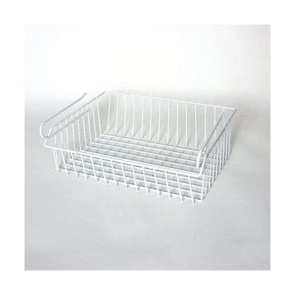 Delfinware Wireware White Under Shelf Basket