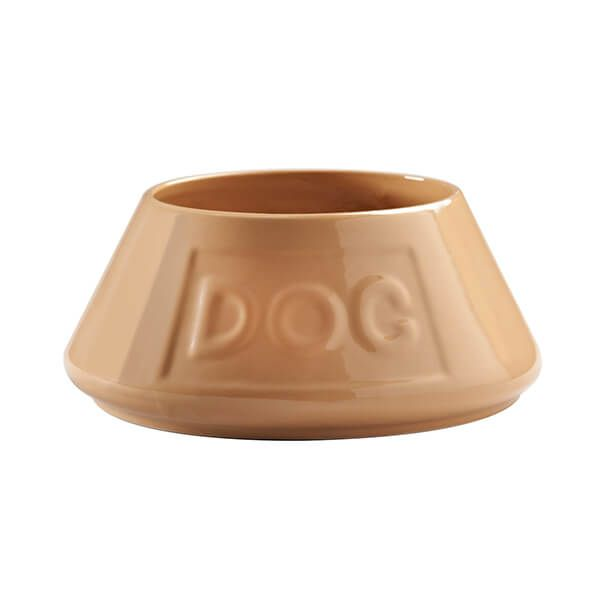 Mason Cash Cane Non Tip Lettered Dog Bowl 21cm