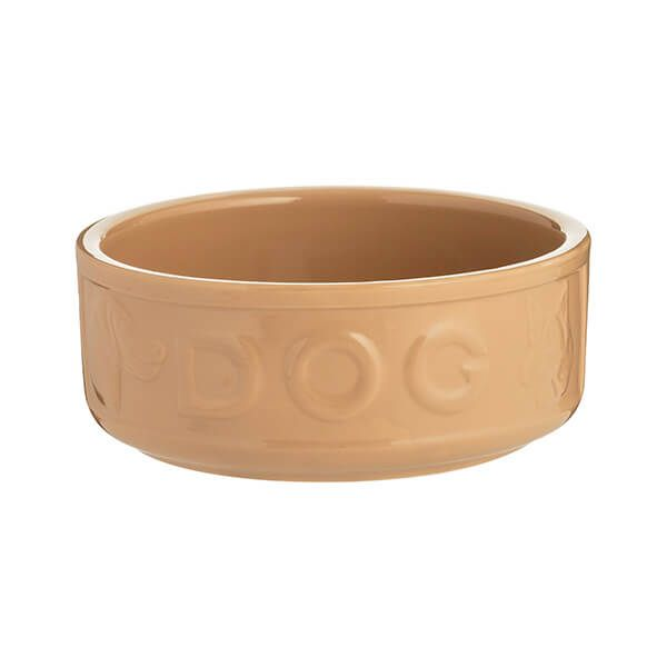 Mason Cash Cane Lettered Dog Bowl 18cm