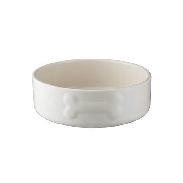 Mason Cash Colour Mix 15cm Cream Dog Bowl