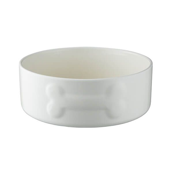 Mason Cash Colour Mix 20cm Cream Dog Bowl