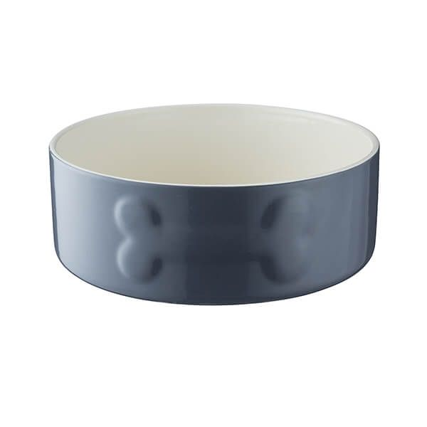 Mason Cash Colour Mix 20cm Grey Dog Bowl