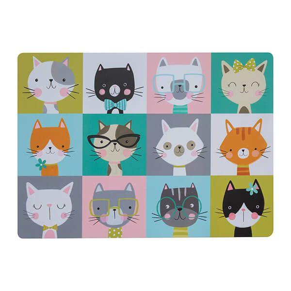 Mason Cash Pawtrait Cat Placemat